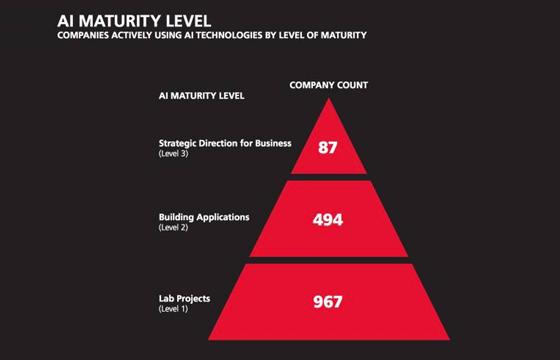 人工智能渗透率虽低,但TOP级公司已抢占先机